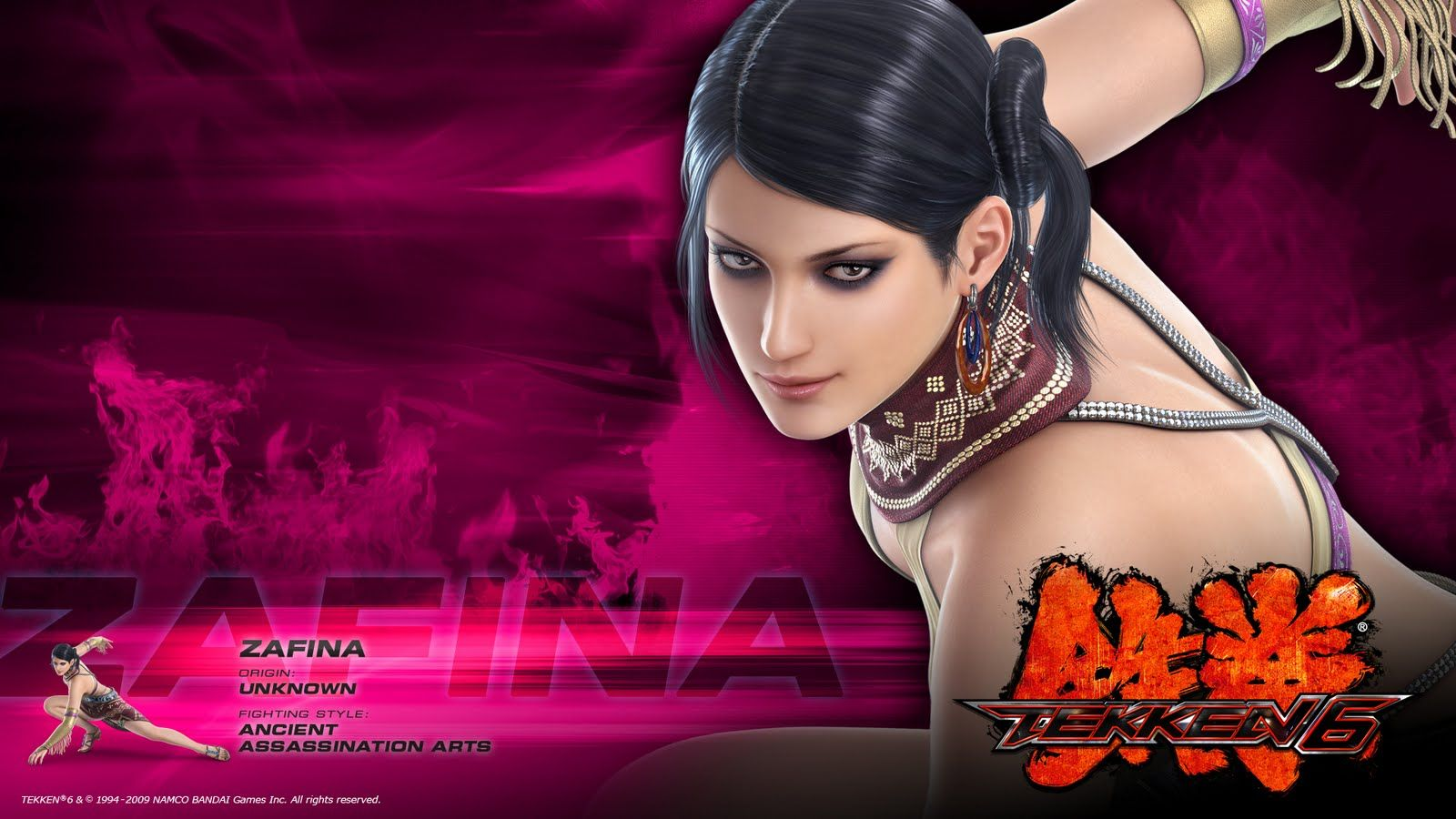 Tekken Zafina By Naughtyboy On Deviantart Wallpaper Art