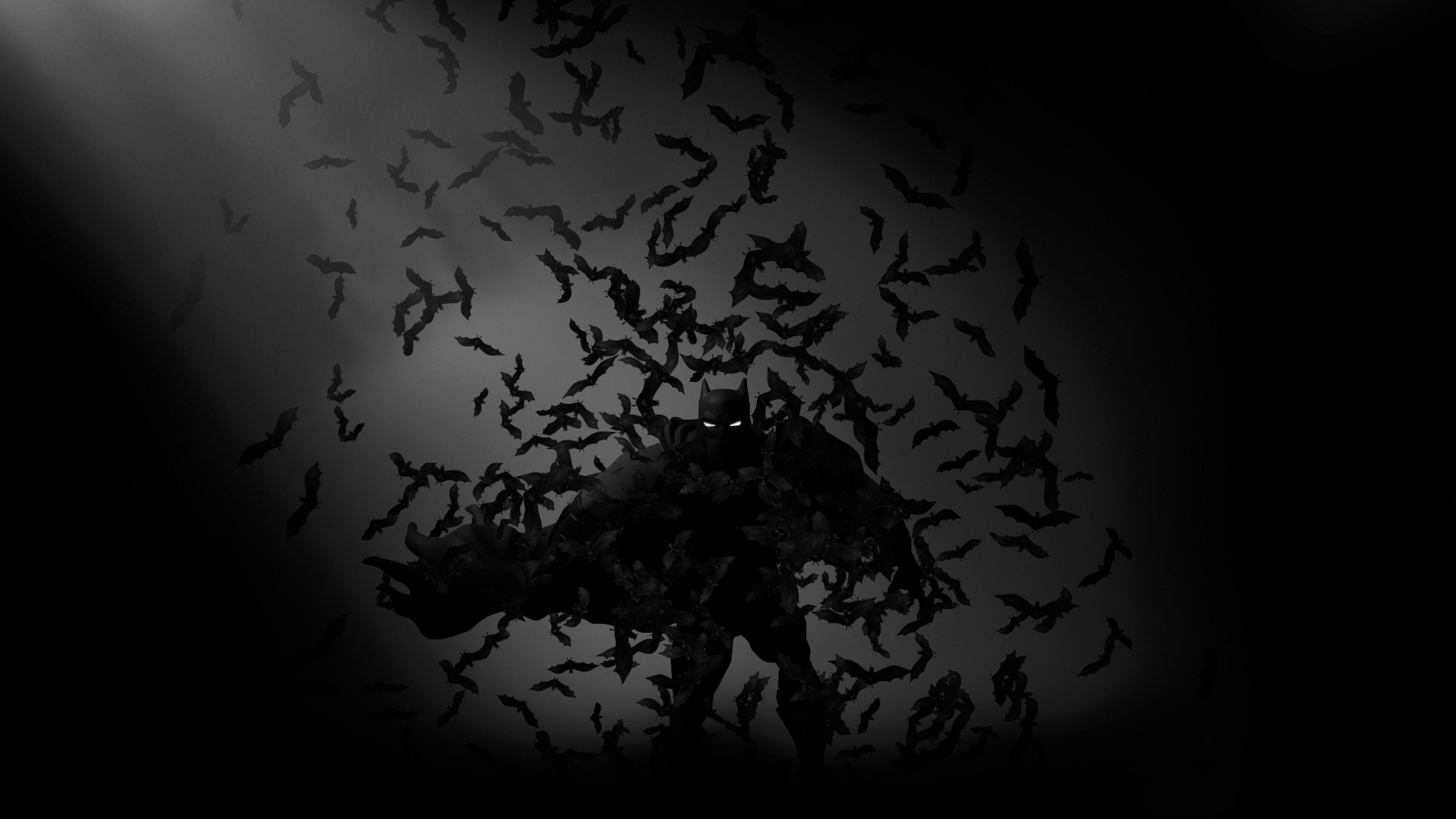 Batman Bats Art 4k Monochrome Wallpapers Hd Wallpapers Black And White Wallpapers Bats Wallpapers Ba Art Wallpaper Black Love Art Black And White Wallpaper