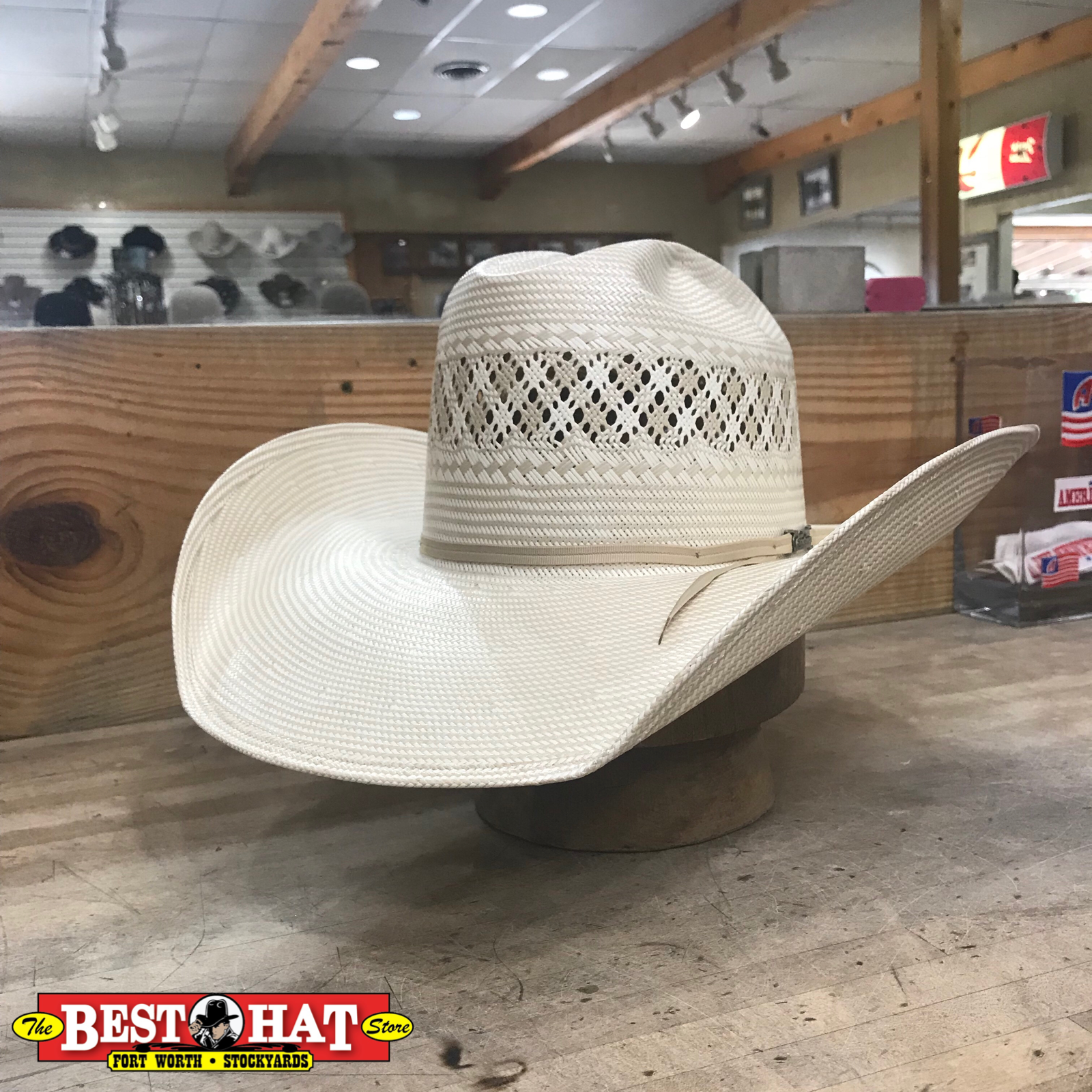 7f762eba58fffd Come getcha the 1011 with a 4 1/2 brim cattleman with cutter bumps 🔥🔥🔥  ...#besthat #besthatstore #thebesthatstore#americanhatco ...