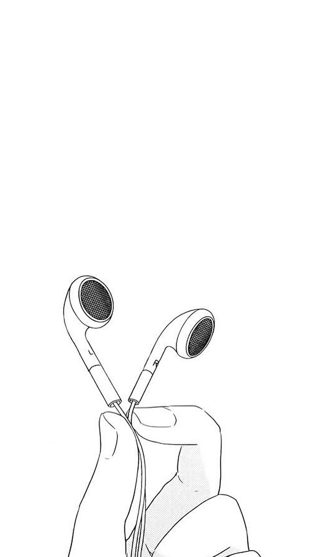 Iphone 5 wallpaper tumblr music - Earphones I Use For Music And Music Is Life