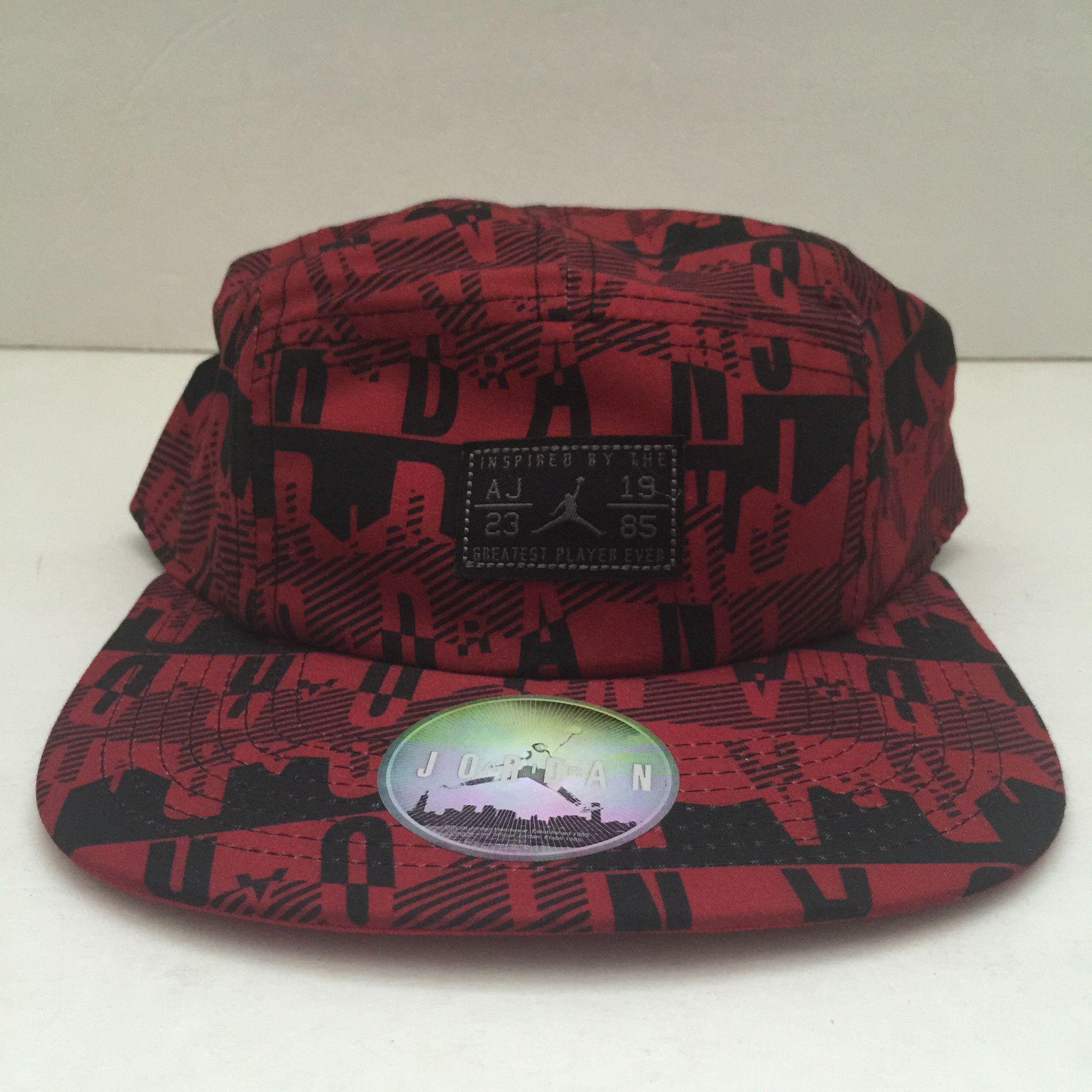 Nike Air Jordan Retro 5 Panel Snapback Hat  c78f63ff046a