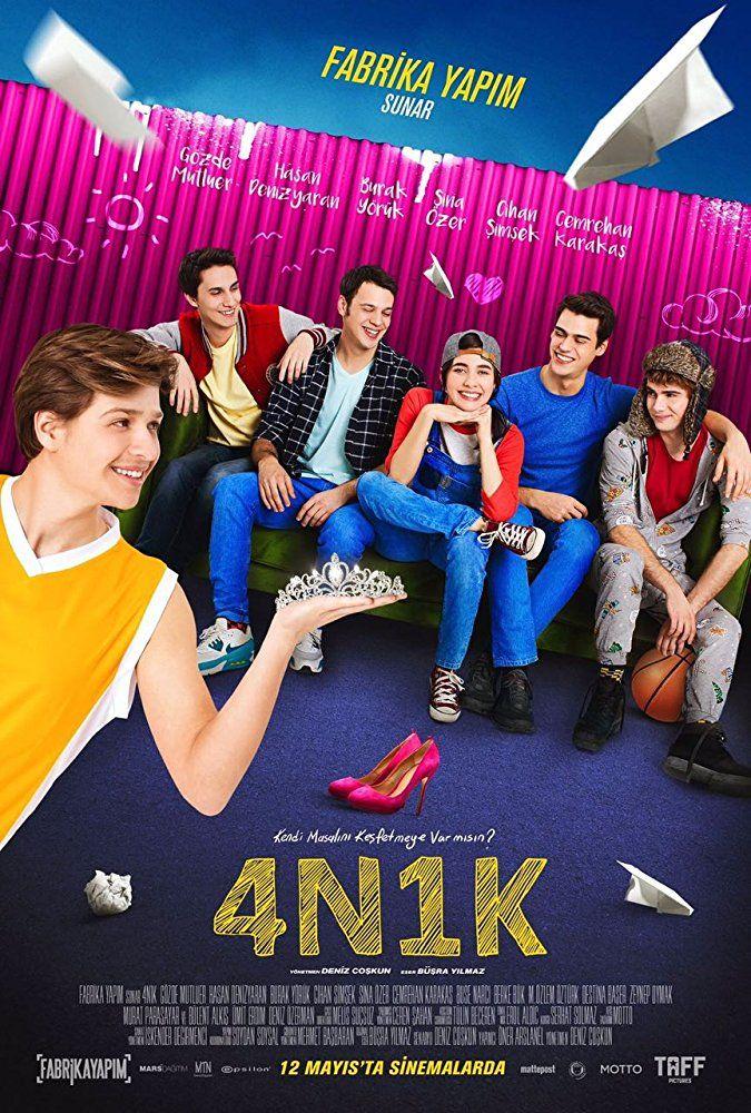 4n1k 2017 Yerli Gençlik Romantik Komedi Filmi Hd Izle 4n1k