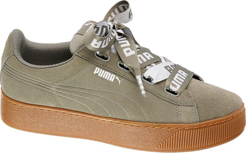 Bei dem Sneaker VIKKY PLATFORM RIBBON MU von Puma wurden