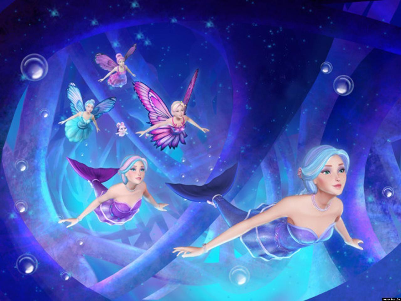 Barbie Fairytopia Mermaidia Com Imagens Filmes Da Barbie