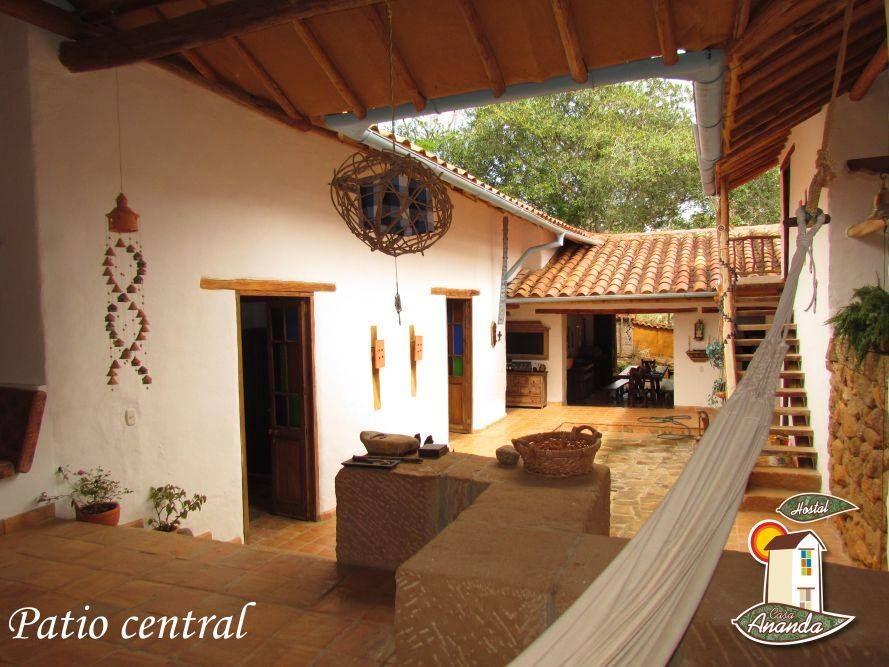 Barichara Santander Casa Hostal Lodging House Interiores De Casa Casas De Un Piso Casas