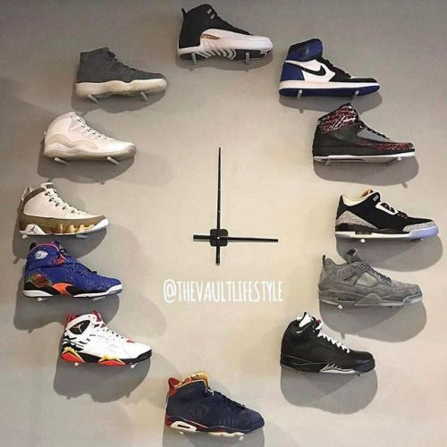 ThepurpletapeJordan Clock Jordan Storage In 2019
