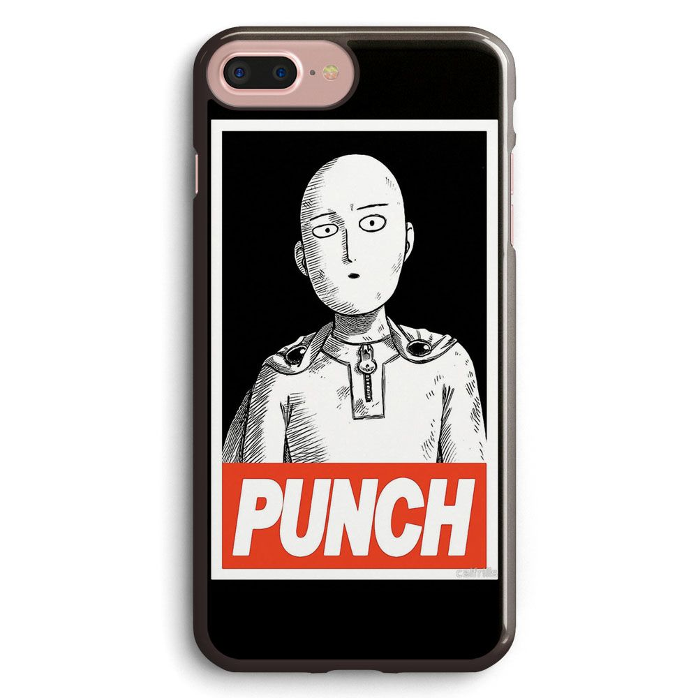One Punch Man OBEY iphone case