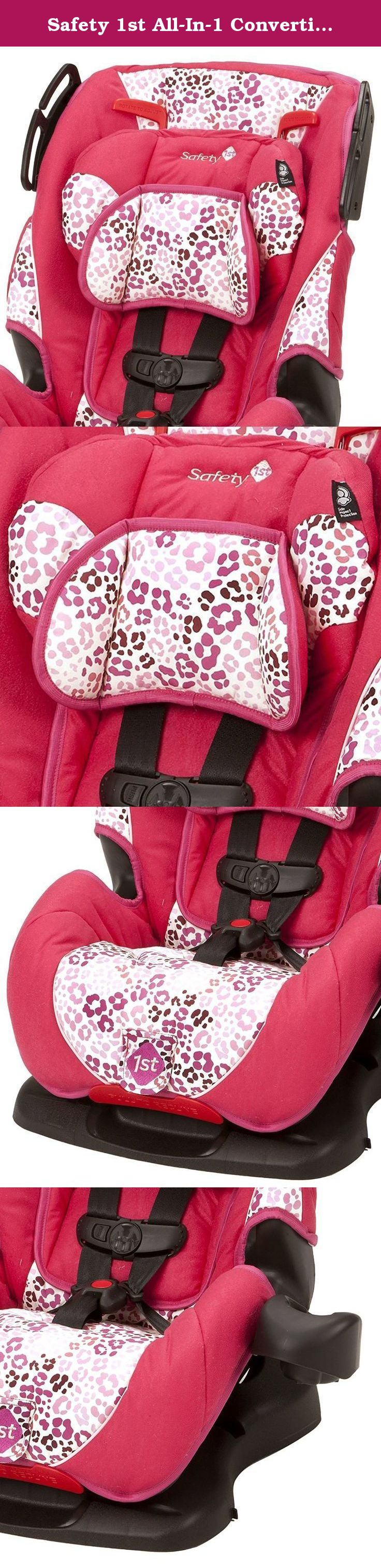 Safety 1st All-In-1 Convertible Multi-Position Car Seat, Ruby ...