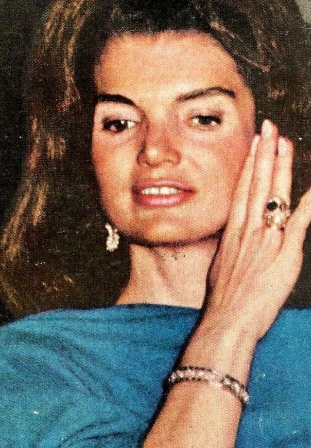 Mrs Jacqueline Kennedy, 1967.