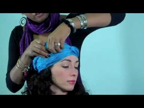 How to Hide a Stubborn Cowlick #tieheadscarves