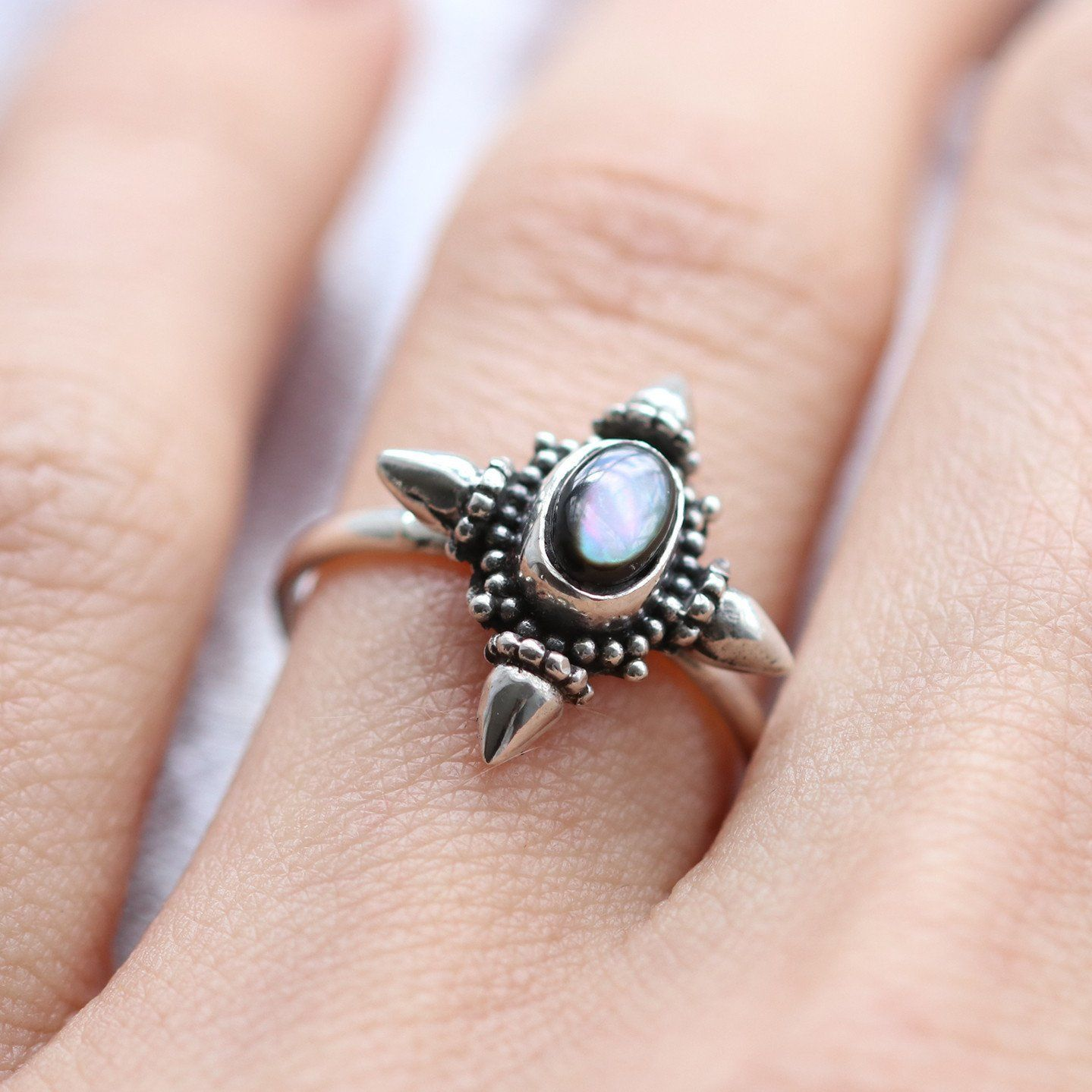No Love Lost Black Pearl Gothic Ring | Gothic rings, Gothic and Pearls