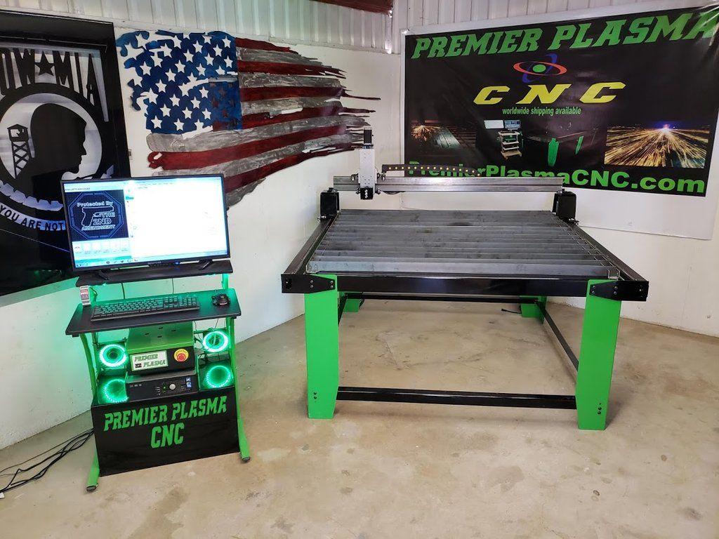 P2020 PREMIER PLASMA CNC 4x4 FLAT TOP Table W/ Floating