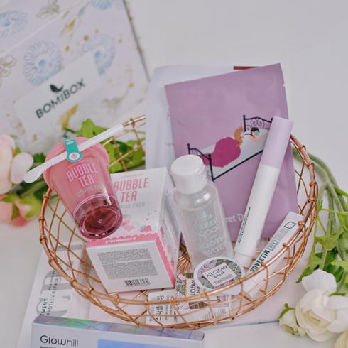 Past Boxes Bomibox Korean Beauty Box Korean Skincare Products Subscription Skincare Subscription Box Korean Skincare Beauty Box