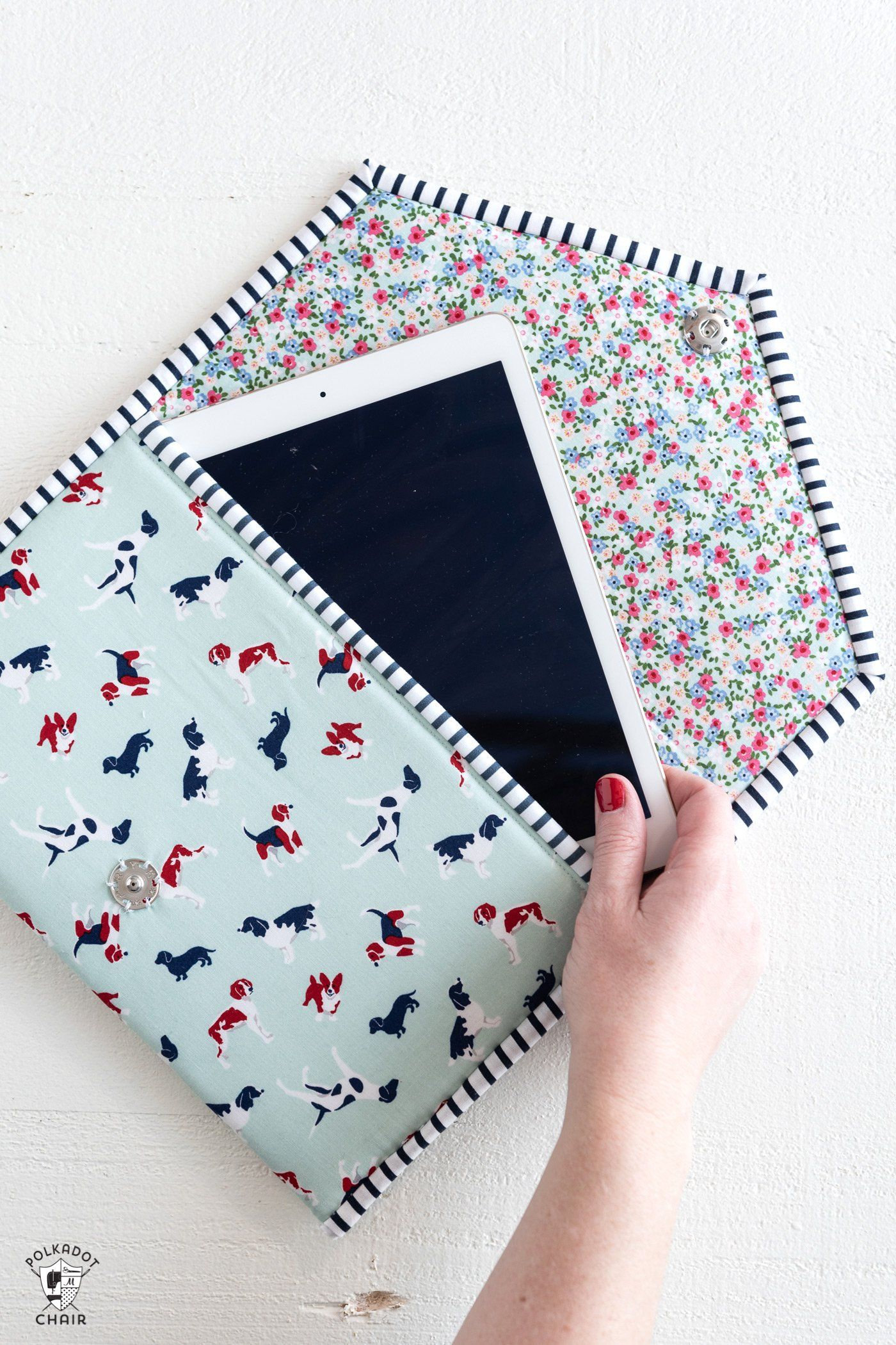 Photo of New Sewing Pattern! The Busy Day Tablet Case | The Polka Dot Chair
