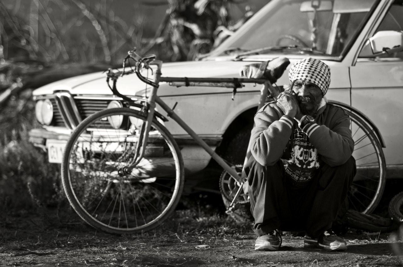 greyton community, documentary portrait black and white