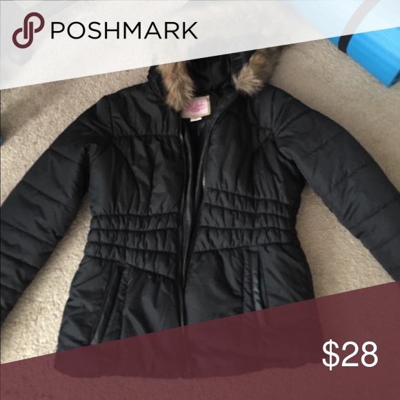 1e759489c83c Winter jacket Perfect condition. Kids size L but I m a women s small and it  fits me! Pink Envelope Jackets   Coats