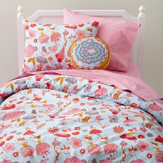 Pin On Bedroom Ideas, Land Of Nod Bedding Girl