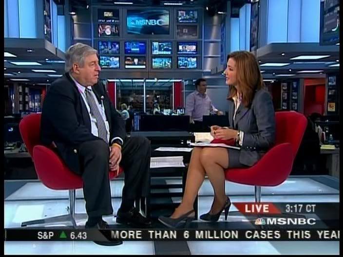 MSNBC Anchor Chris Jansing **Leggage**