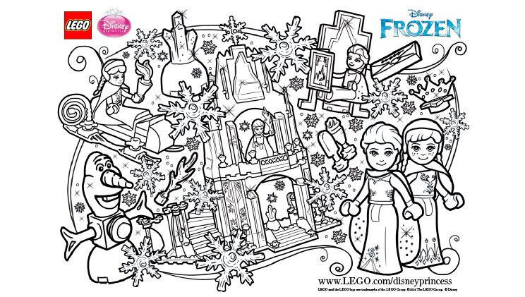 Frozen Fun Coloring Page Activities Frozen Kleurplaten Kleurplaten Lego