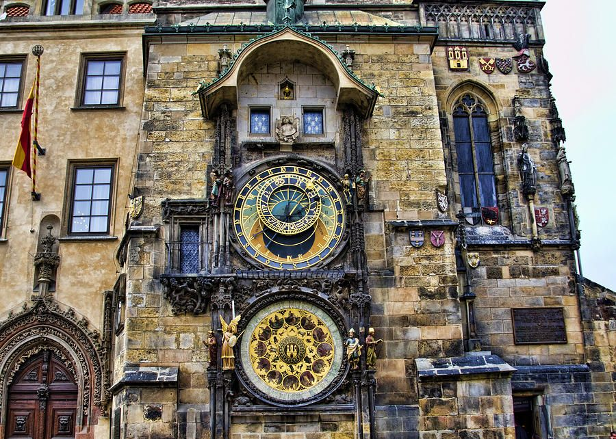 Image result for The Prague astronomical clock, Prague, Czech Republic