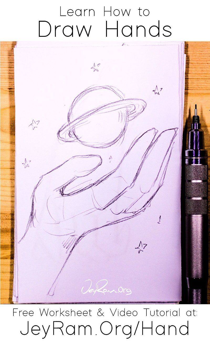 Learn how to draw hands for beginners in 2020 how to