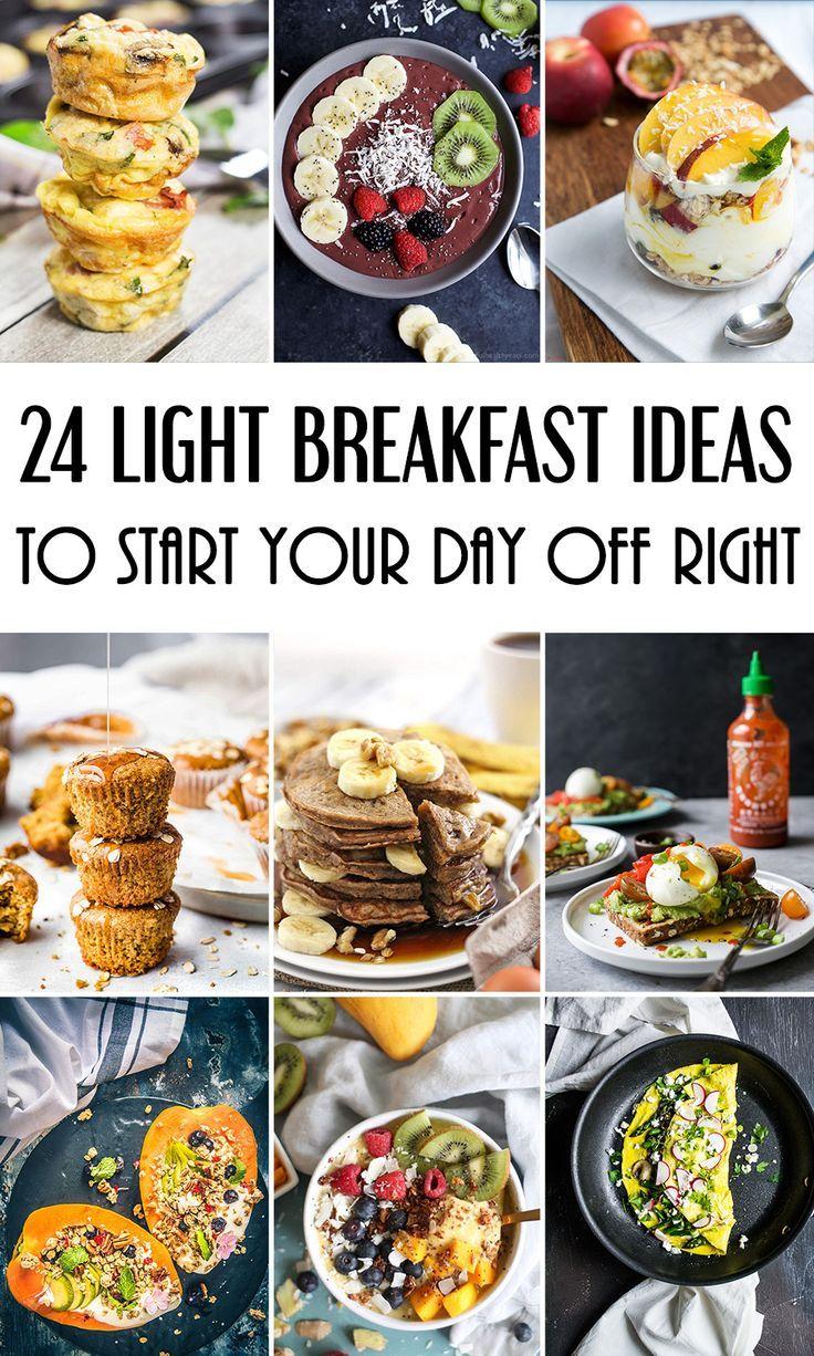 24 Light Breakfast Ideas To Start Your Day Off Right Breakfast