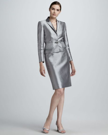 Women's Metallic Satin Suit | Satin, Suits and Suits on sale