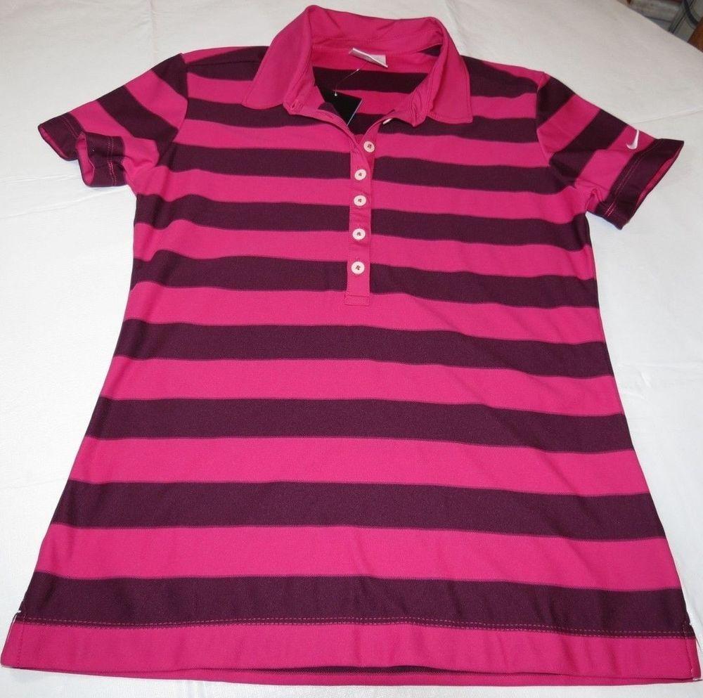 2fb0a50ff Nike Golf Dri Fit Stay Cool S standard fit SS women s polo shirt 553237 654  NEW  NikeGolf  PoloShirt
