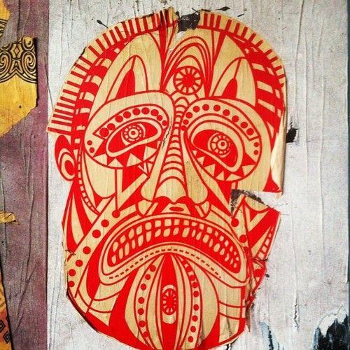 Face #mexico #iphonegram #streetartmexico #streetart #urbanart #mexico #df  (Taken with instagram)