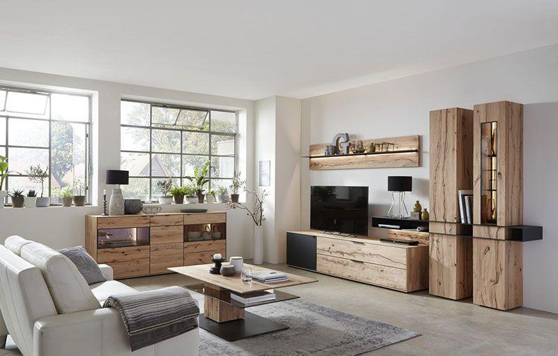hartmann massivholzm bel modellreihe talis galerie wohnkombinationen modernes wohnen in. Black Bedroom Furniture Sets. Home Design Ideas