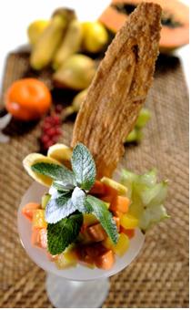 Soupe De Fruits Frais A L Aloe Vera Et Fleur D Oranger Recepten