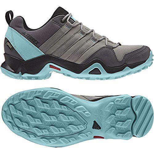 Details about adidas Terrex AX2R GTX Low Walking Shoes Womens Blue Hiking Trekking Boots