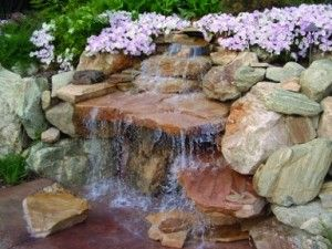 Build Your Own Water Feature | How To Build An Outdoor Rock Water Feature,  Boise