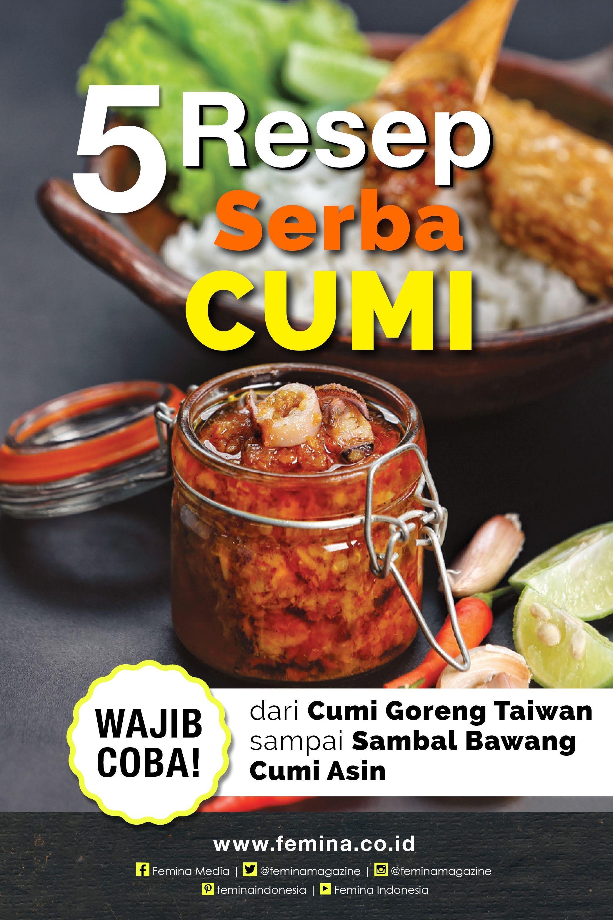 5 Resep Serba Cumi Sedap Resep Makanan Cina Resep Masakan Resep Masakan Asia