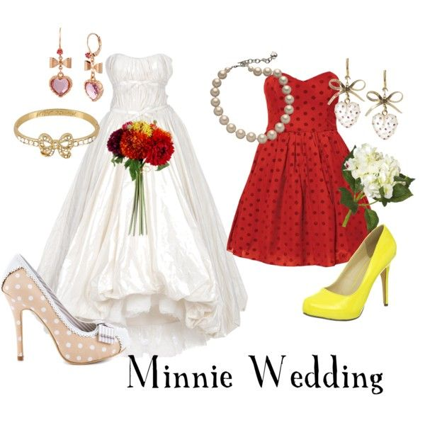 Minnie Mouse Inspired Wedding   Minnie mouse, Mice and Wedding