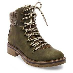 Bettyann Sweater Hiking Boots : Target