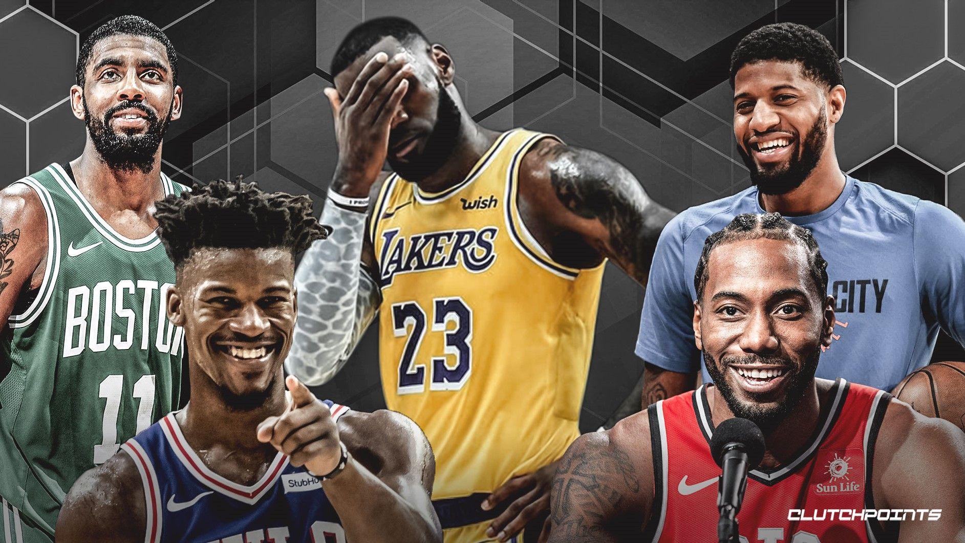 Nba Rivalries Lebron James And Anthony Davis Of Lakers Vs Kawhi Leonard And Paul George Of Clippers Lebron James Lakers Vs Anthony Davis