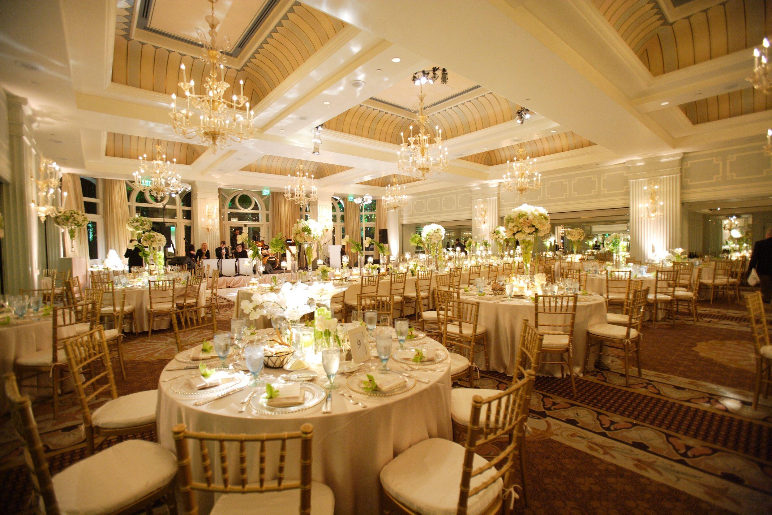 Colonnade Ballroom at sister Hotel Casa del Mar. Los