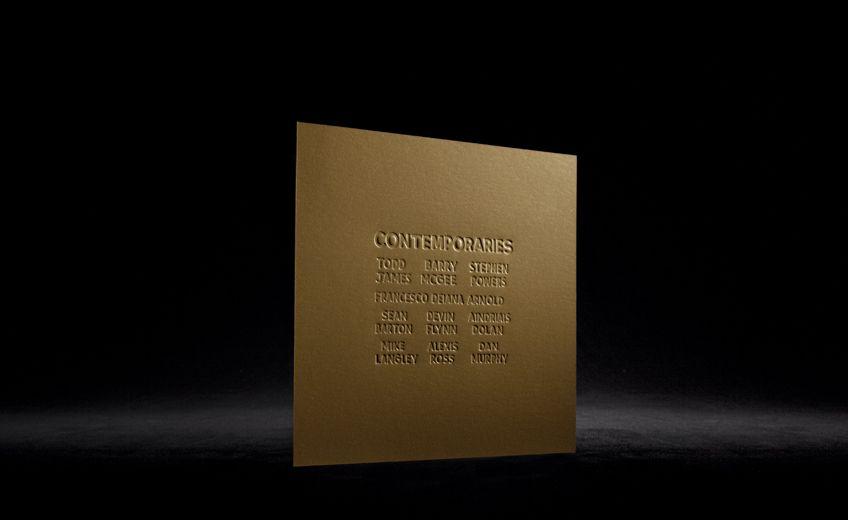 "Galleria Patricia Armocida - Invito ""Contemporaries"""