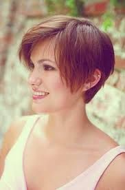 short hairstyles oval face - Google Search