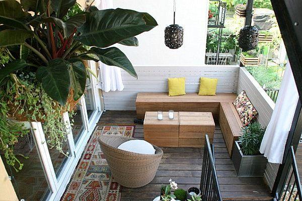 Crea Tu Terraza Chill Out Por Poco Dinero Hoy Lowcost Balcon Decoracion Pequena Terraza Muebles Terraza