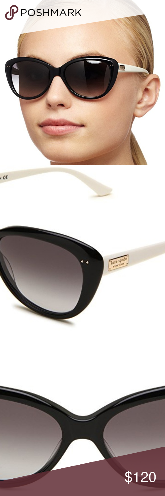 13ed9b6498 Kate Spade New York Angelique Cat-Eye Sunglasses Kate Spade New York  Angelique Cat-