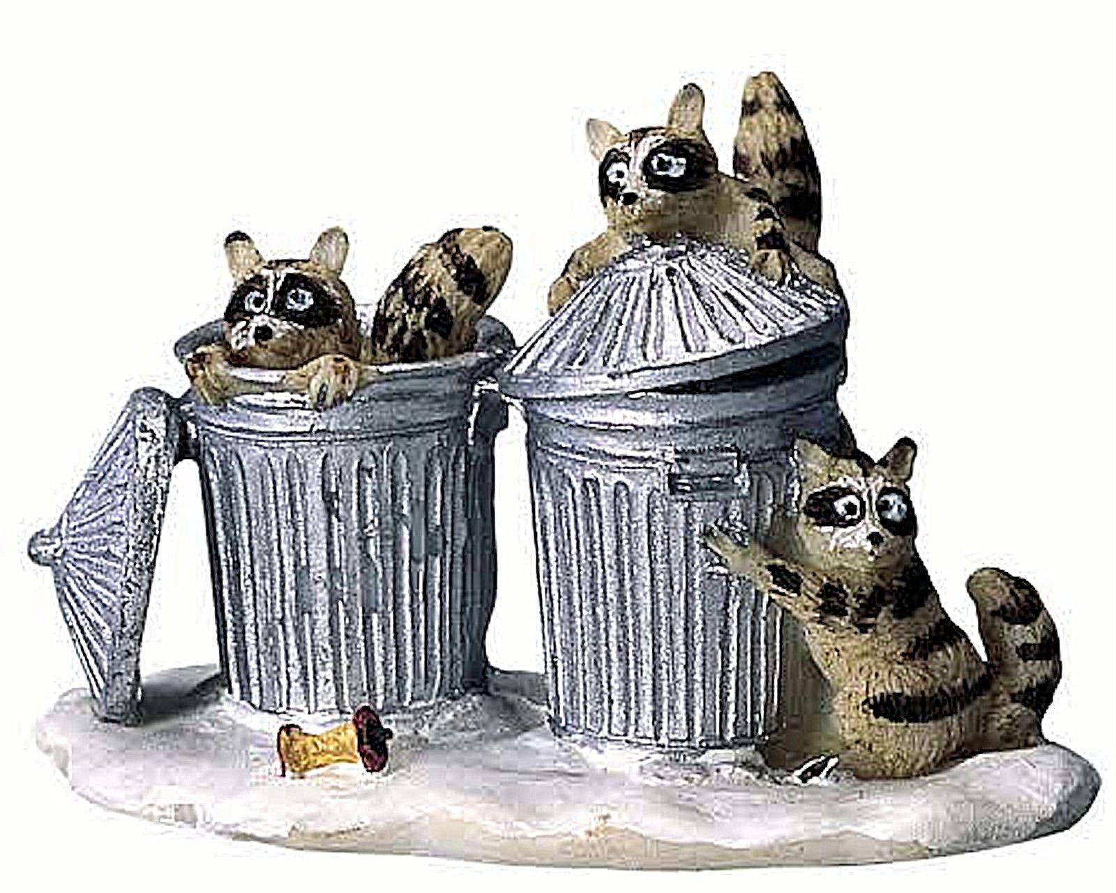 Trash bandits lemax village collection retired lemax