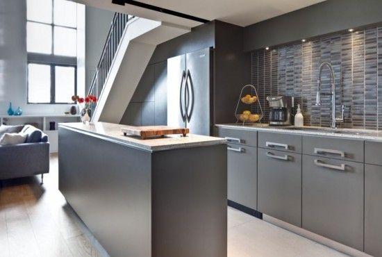 Cocina color gris cocinas Pinterest Colores grises, Gris y Color