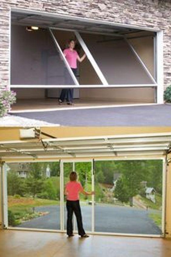 Garage Door Window Screen Garage Door Opener Window Blind Pink House Diy Screen Door Diy Door Garage Floor Paint