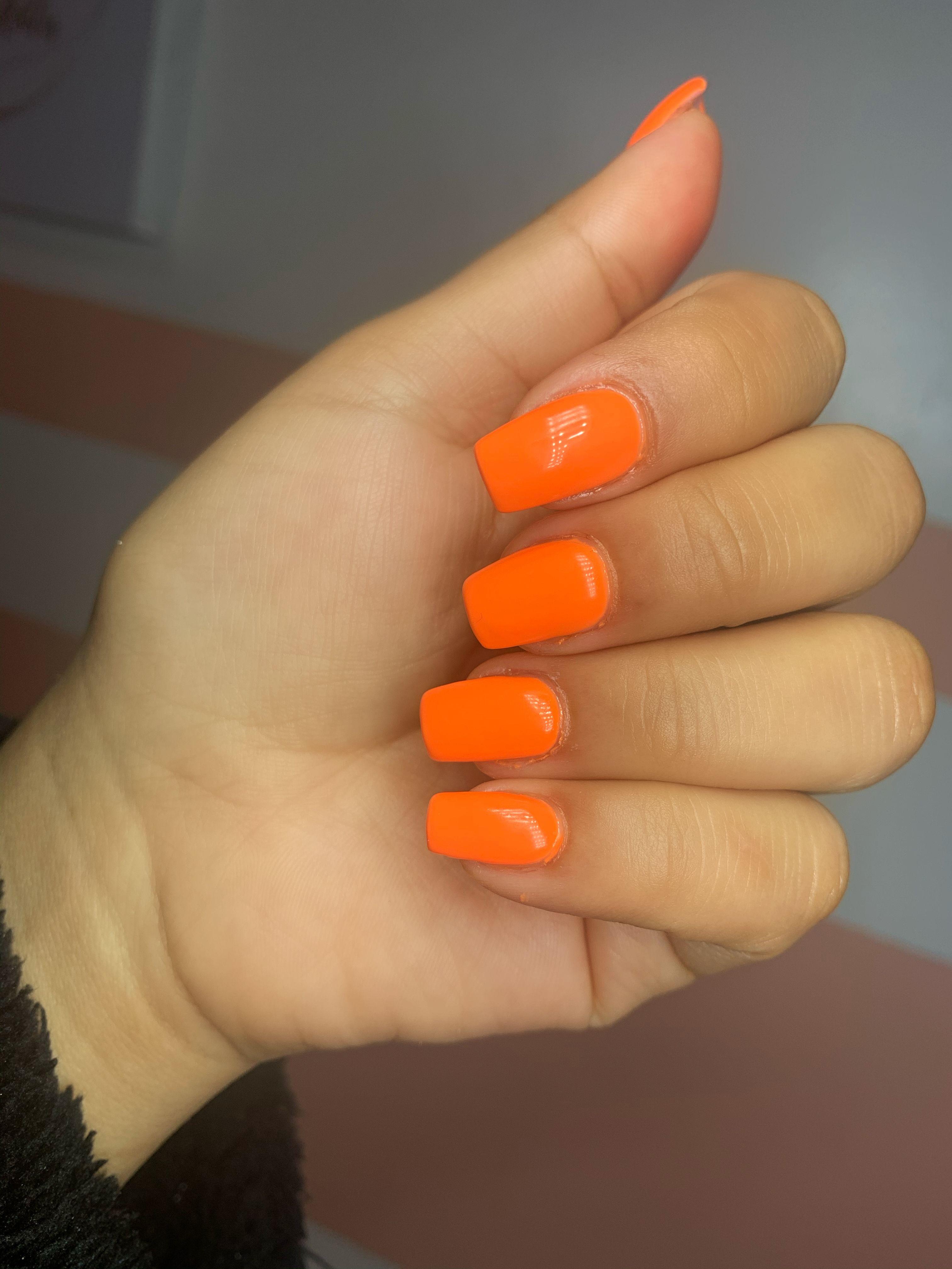 Unas En Color Anaranjado Color Anaranjado Unas Bonitas Unas Want to discover art related to zanahoria? unas en color anaranjado color