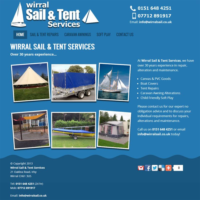 Wirral Sail And Tent Services Offer Repair Alteration And Maintenance Of Sails Tents Boat Covers Caravan Awnings Etc V Caravan Awnings Boat Covers Repair