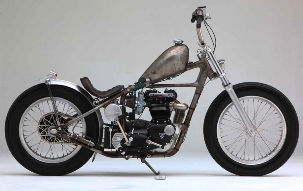 ACME Choppers Naked Triumph | Street Chopper | Sweet Bikes | Triumph