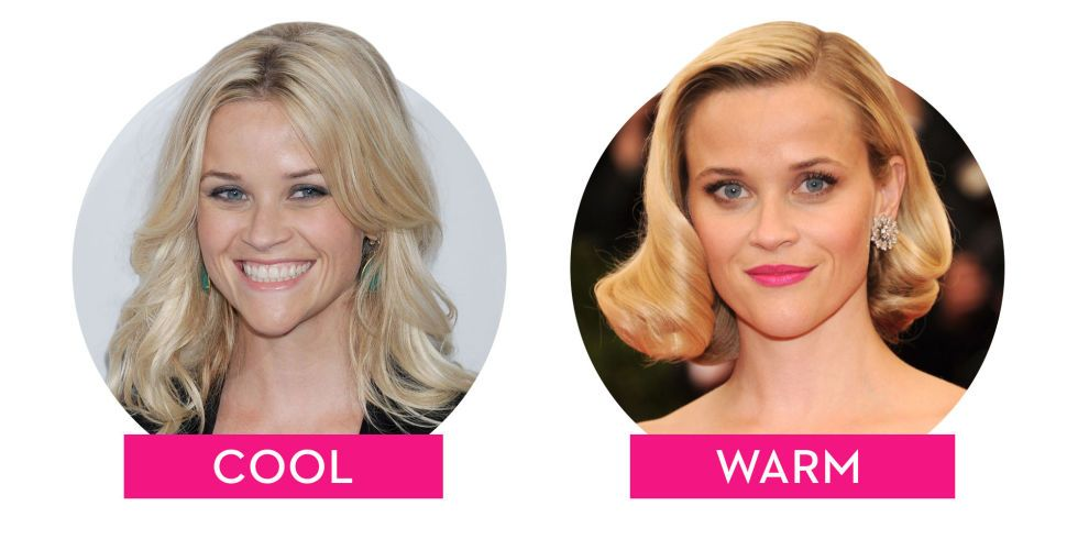 Cool Vs Warm How The Tone Of Your Hair Can Totally Change Your Look Cool Tone Hair Colors Cool Toned Blonde Hair Skin Tone Hair Color
