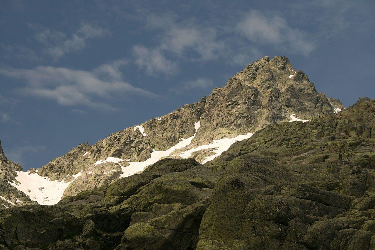 Pico Almanzor Montañas España Fotografia Naturaleza España